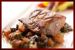 本日の鮮魚と野菜のグリル
